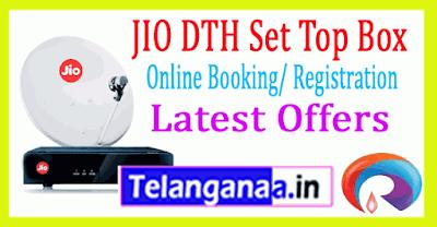 Jio DTH Booking Online Reliance Jio Set Top Box Registration