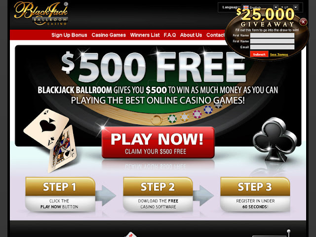 Blackjack Ball Room