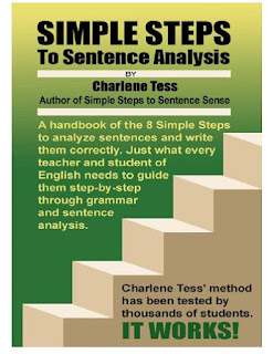Cover Simple Steps to Sentence Analysis by Charlene Tess