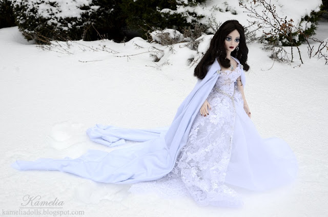 Evangeline Ghastly as Snow Queen