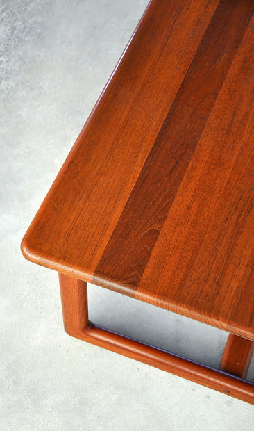 Select Modern Danish Teak Coffee Cocktail Table