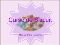 Curso de Biscuit Manual Para Iniciantes