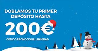 Paston Bono Especial Navidad: Apuestas + Casino 24-25 diciembre