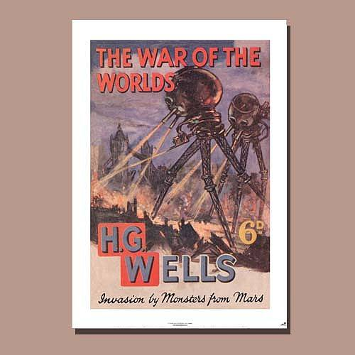 The War of the Worlds poster