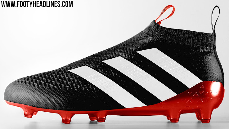 Adidas Ace 16 PureControl Black   Red   White
