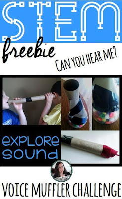 Voice muffler sound STEM challenge. Can you hear me? | Meredith Anderson - Momgineer
