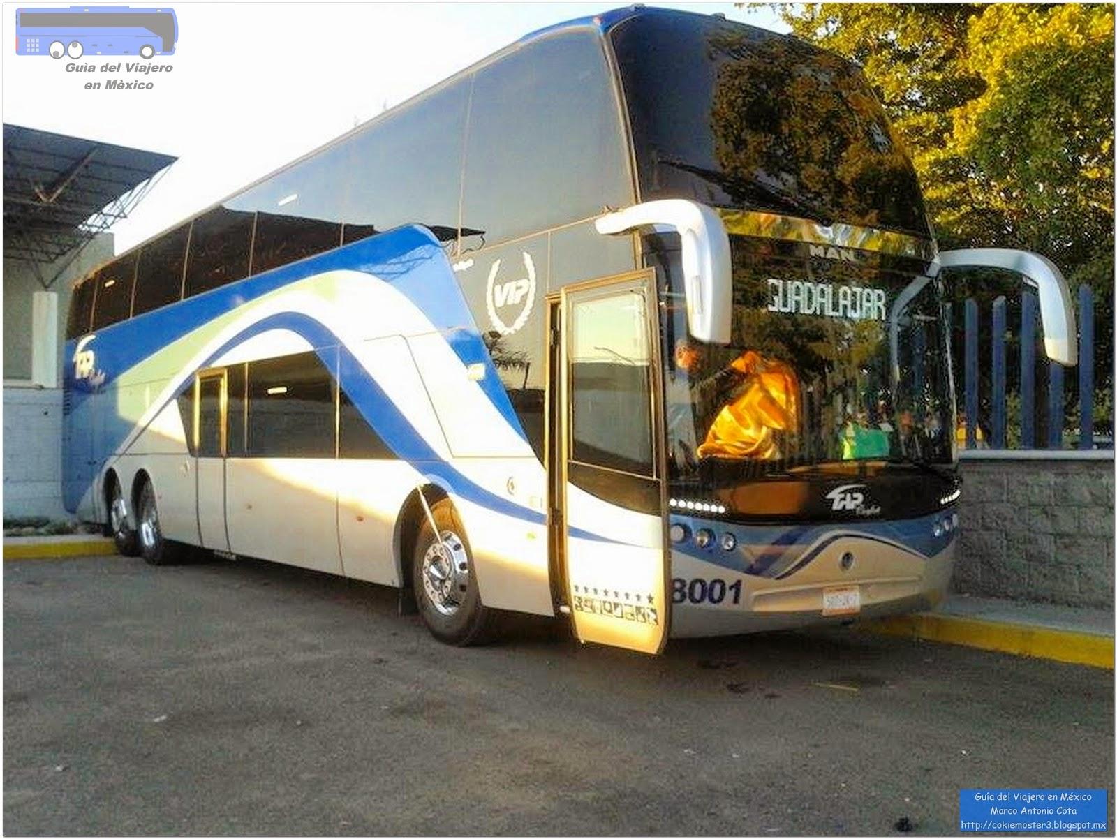 Guía del Viajero en México: Líneas con Autobuses de dos pisos en México