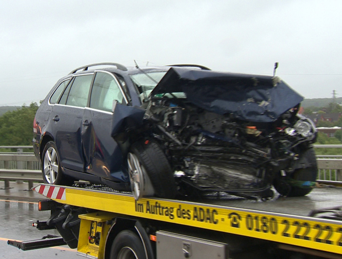 A23 Unfall Heute