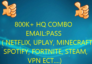 combo list 800K+ HQ EMAIL:PASS