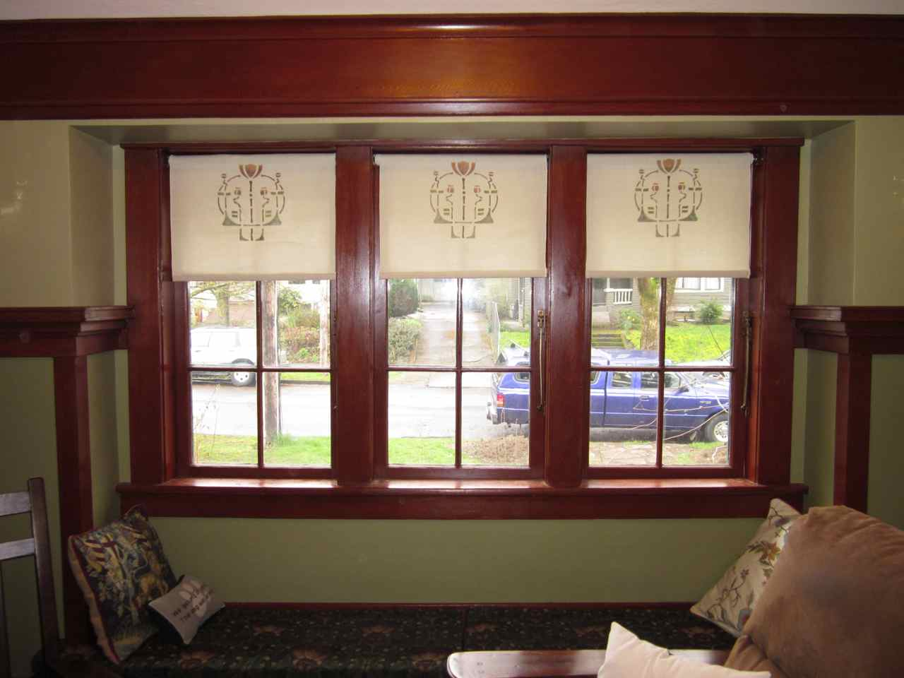 Arts And Crafts Style Valances