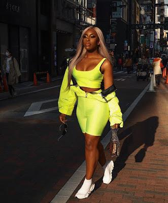 Jackie Aina fashion and style looks