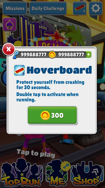Cheat Subway Surf  Unlimited Coins and Key