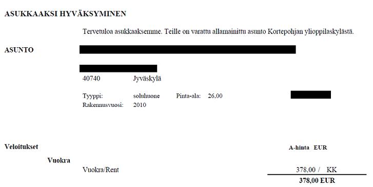 Video Games and Language Studies: Sain asuntotarjouksen!