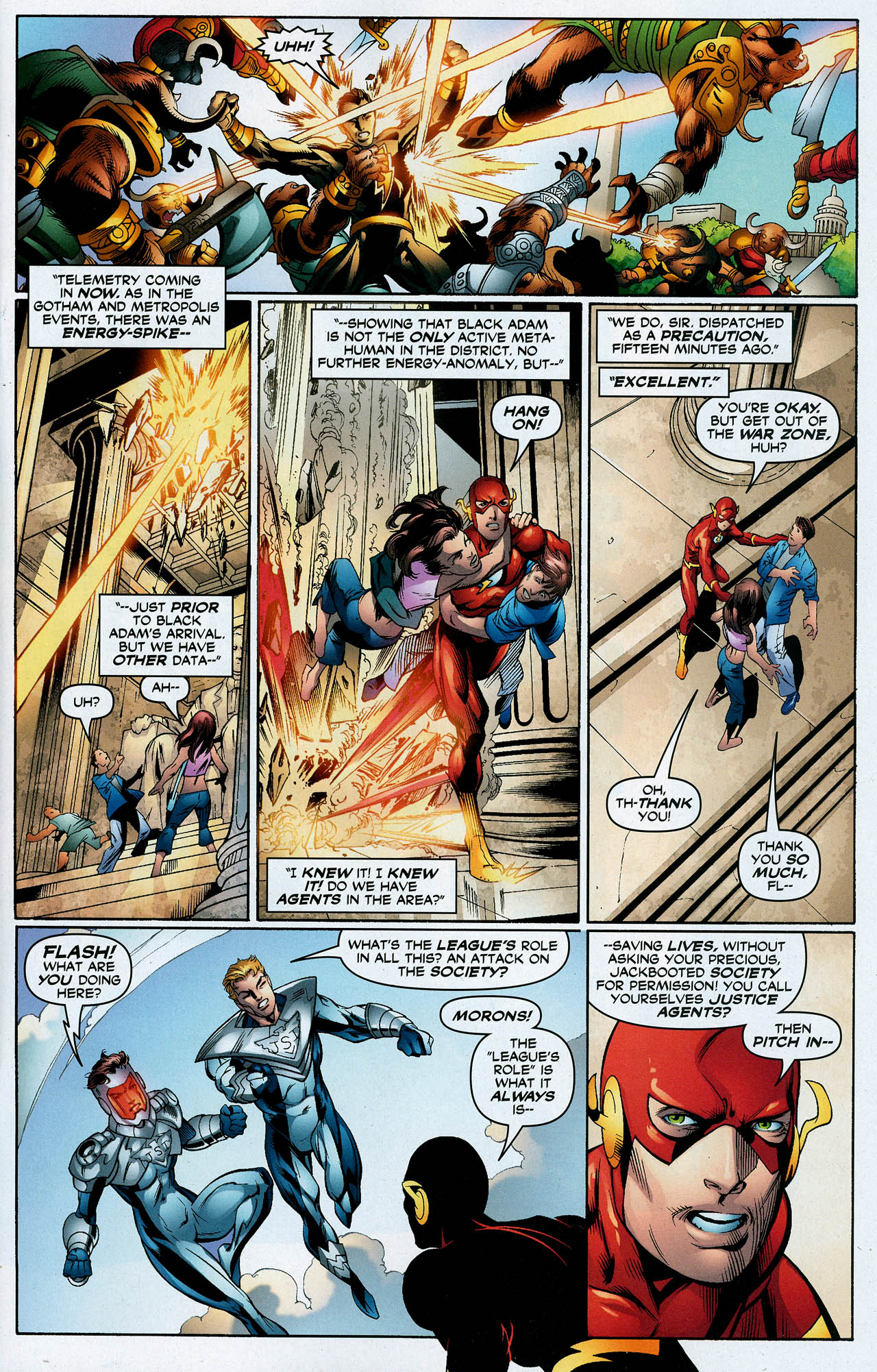 Read online Trinity (2008) comic -  Issue #23 - 6