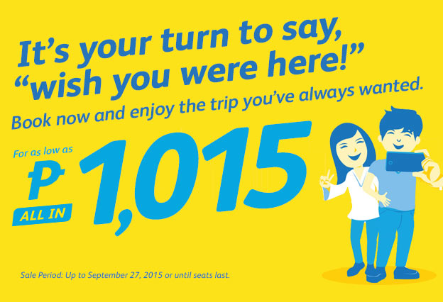 Cebu Pacific Cheap Flight Promo 2015