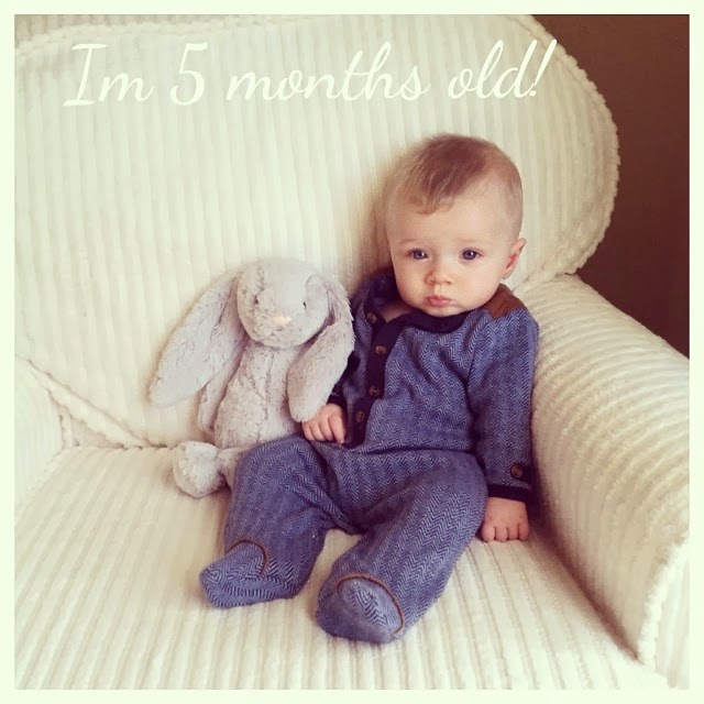 TESSA RAYANNE: Our Baby Boy Is 5 Months Old!