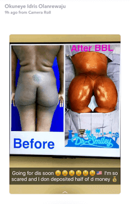 Bobrisky Says He's Getting A Butt Lift In The US, Already Paid Half Of The Money For The Surgery