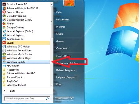 Cara Menonaktifkan Automatic Update di Windows 7