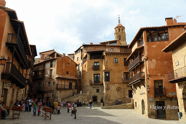 Plaza Mayor de Albarracín, Teruel