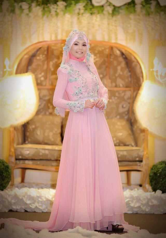 Gaun Akad Pengantin Muslimah Galeri Ayesha Jual Baju Jidiworkout Co