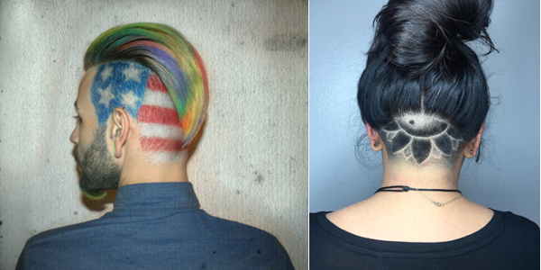 Mytattooland.com: Hair tattoos for men and women!