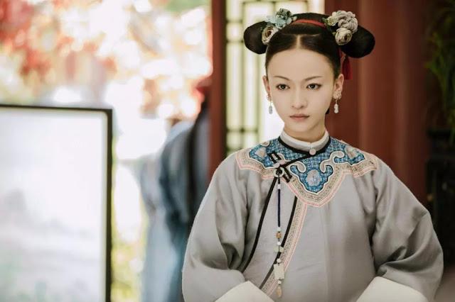 Qing Dynasty Costumes Story of Yanxi Palace Wu Jinyan