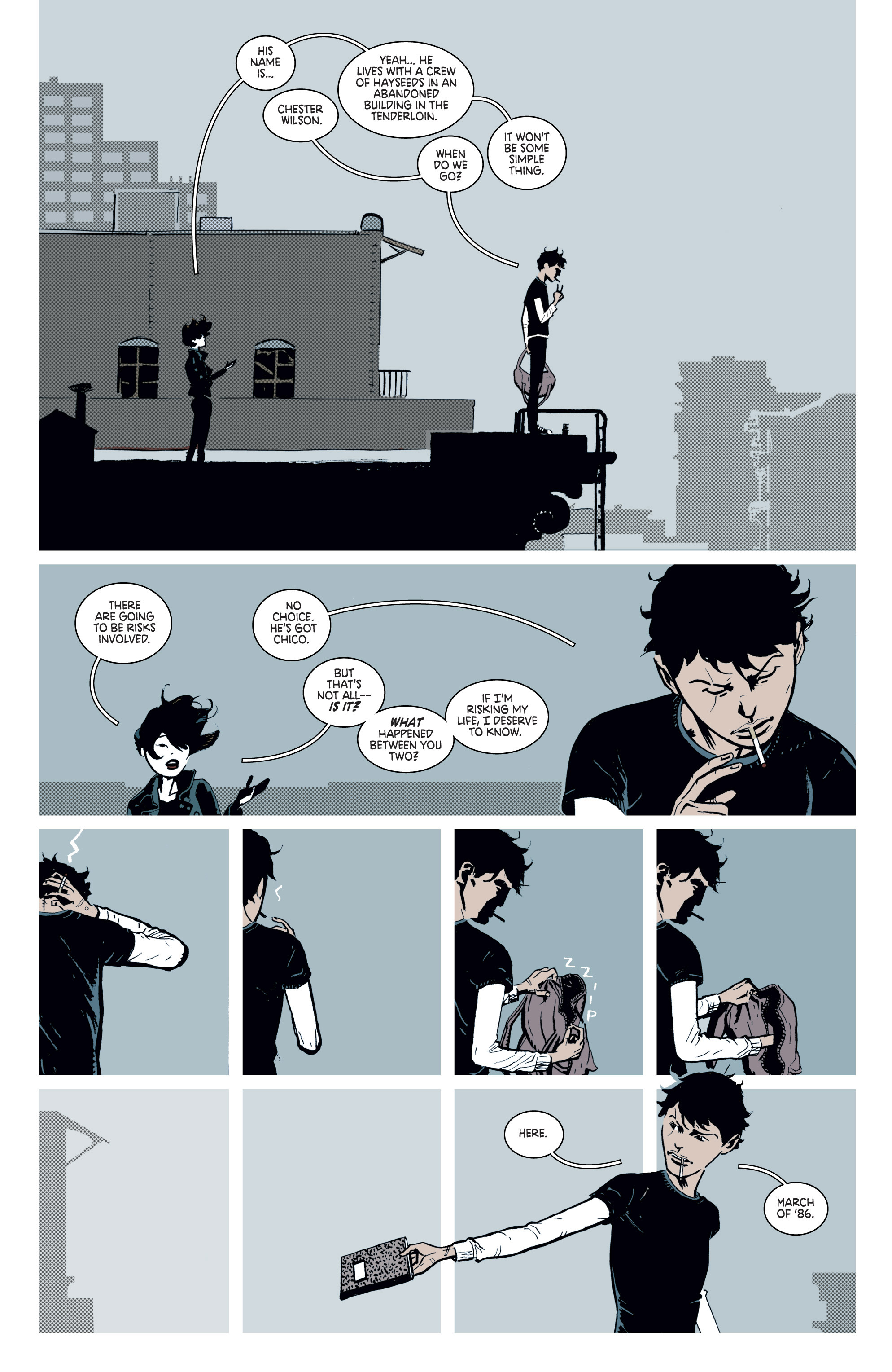 Read online Deadly Class comic -  Issue #8 - 4