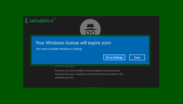 cara mengatasi Windows License Will Expire Soon di Windows 10