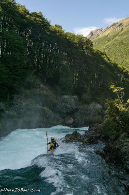 Aeon Russo, Manso Gorge, blue water whitewter kayak argentina manso WhereIsBaer.com Chris Baer