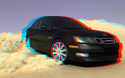 3D view of Car: Intelligent Computing