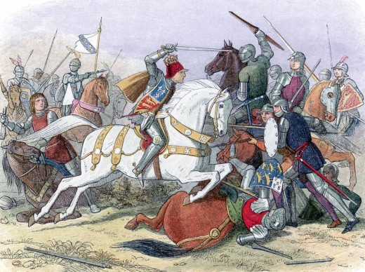 Art History Painting Battle Skeletons