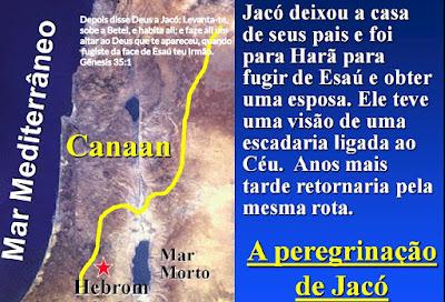 A PEREGRINAÇÃO DE JACÓ