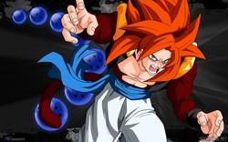 Gogeta Ssj4 Tema Windows 7 Desk Anime