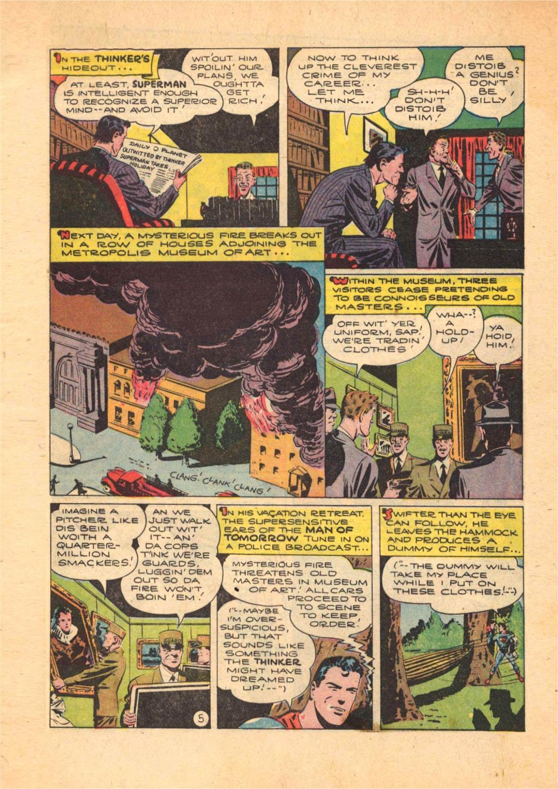 Read online Action Comics (1938) comic -  Issue #70 - 7