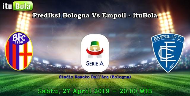 Prediksi Bologna Vs Empoli - ituBola
