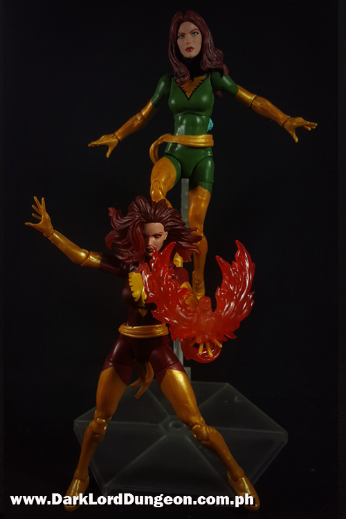 Marvel Legends Jean Grey and Dark Phoenix Action Figures