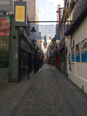 Frühmorgens in den Straßen von Temple Bar, direkt in Dublin. Leere. © diekremserin on the go
