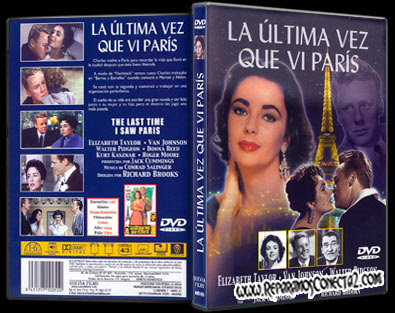 La última vez que vi París | 1954 | The Last Time I Saw Paris ! Dvd