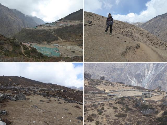 vedute lungo il sentiero da Phorse Thanga a Macchermo