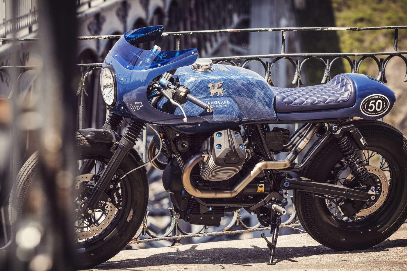 Ottonero Cafe Racer: V7 Vanguard / Vanguard - Gannet Design ...