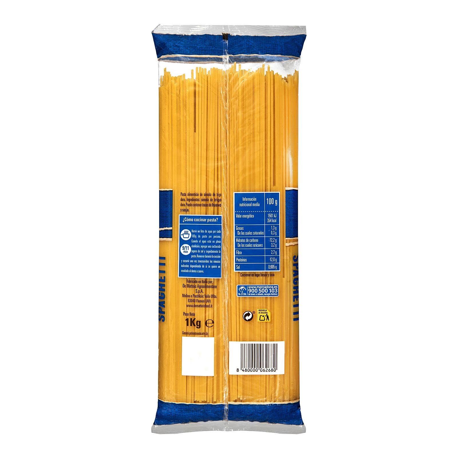 Spaghetti Hacendado