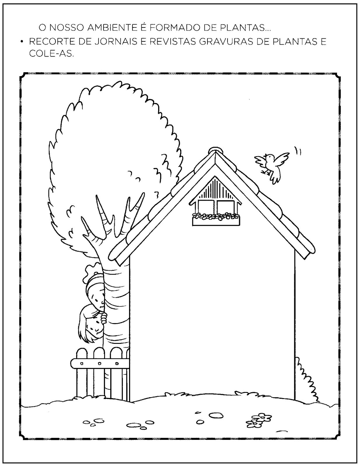 Well-known Atividades do Dia do Meio Ambiente para Educação Infantil — SÓ ESCOLA NH34