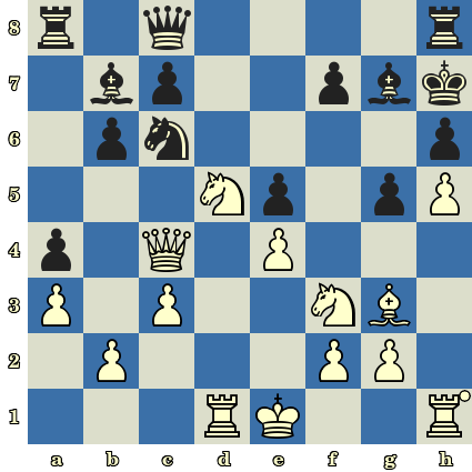 Les Blancs jouent et matent en 6 coups - Ljubomir Ljubojevic vs Nikola Padevsky, Nice, 1974