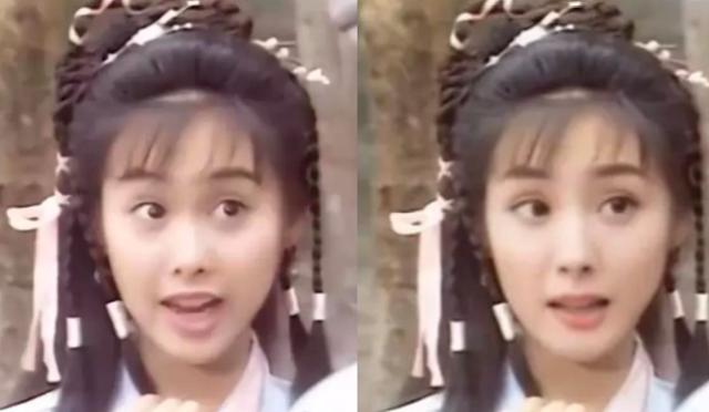 Yang Mi Athena Chu face change condor heroes