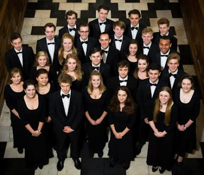 Graham Ross and the choir of Clare College, Cambridge