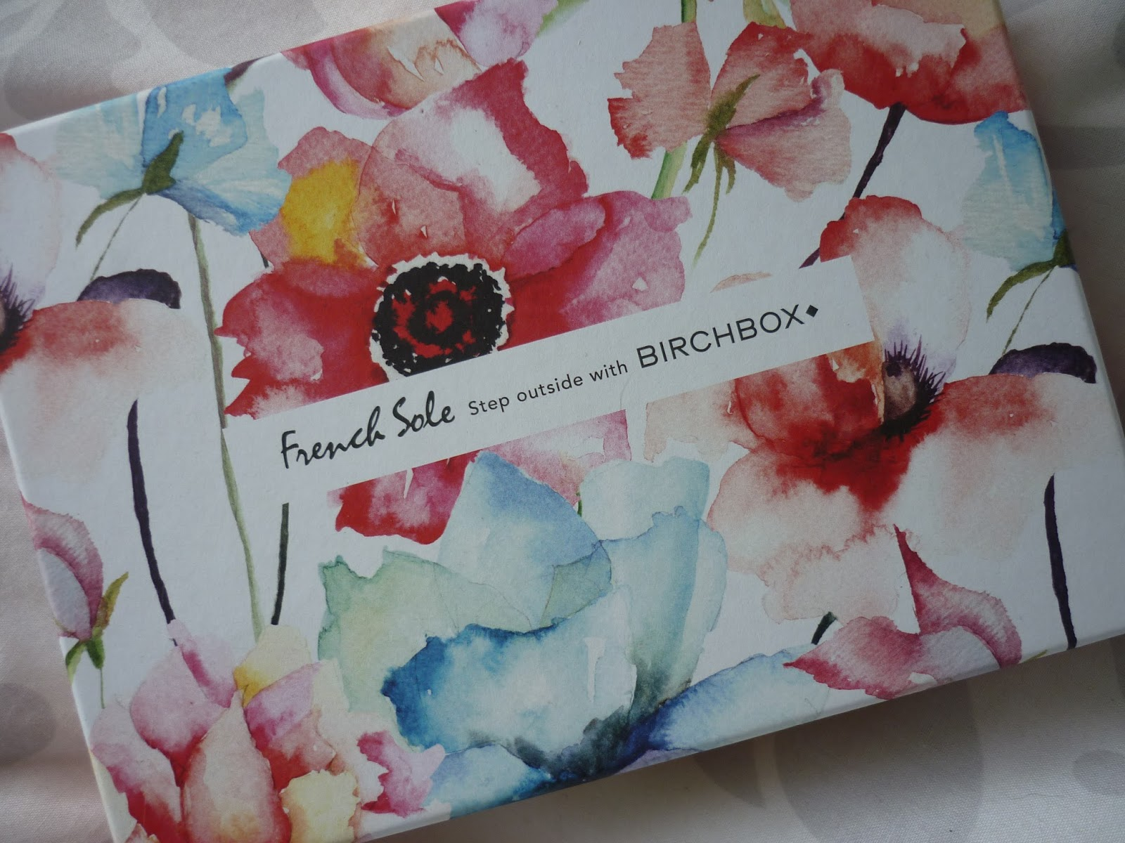French Sole Birchbox Floral