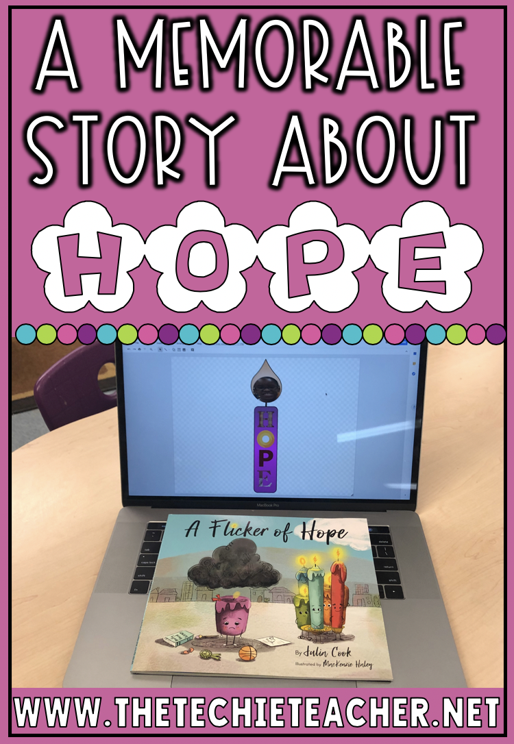 A Memorable Story about Hope for Elementary Students: A Flicker of Hope by Julia Cook. Come grab some technology extension activities to support this wonderful story. Great for class meetings and character building!