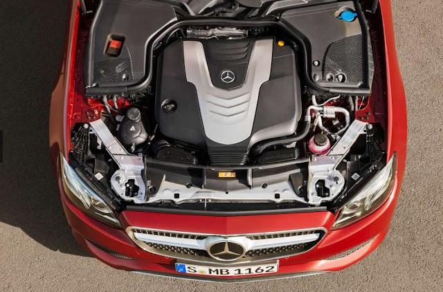 2018 Mercedes-Benz E Class Coupe Engine