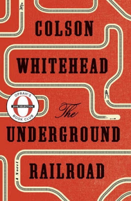 The Underground Railroad by Colson Whitehead - book cover