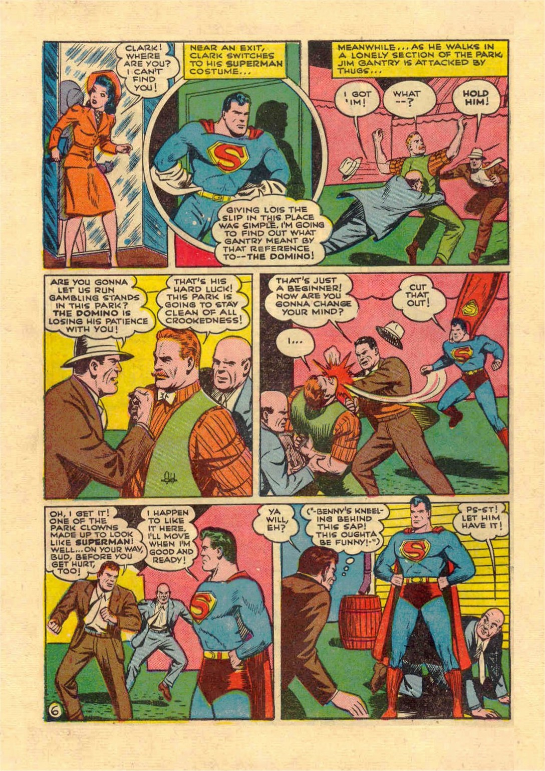 Read online Action Comics (1938) comic -  Issue #46 - 7
